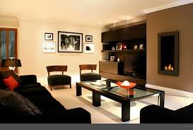 decorating ideas for apartment living rooms black and beige themed apt living room decor ideas