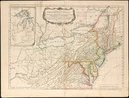 Map Of The New England Colonies a general map of the middle british colonies in america u2026 flickr