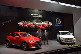 mazda cx3 2015 2015 mazda press conference all new mazda cx 3 11 2015 geneva
