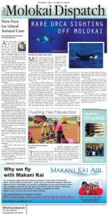 the molokai dispatch january 11 2017 by molokai dispatch issuu