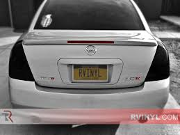 nissan altima yellow engine light rtint nissan altima 2002 2006 tail light tint film