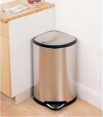 poubelle design cuisine poubelle inox d angle le choix design et pratique
