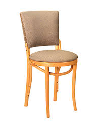 Bentwood Bistro Chair Bentwood Upholstered Back Cafe Chair Model 199 U003e M Deitz U0026 Sons