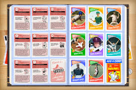baseball photo album custom baseball cards retro 60 series cards