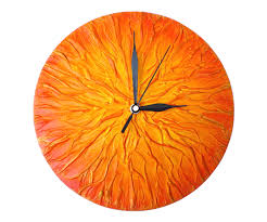 sun design modern handmade large wall clock unique abstract wall