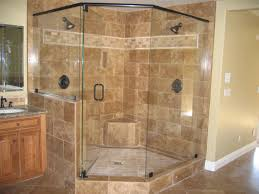 Master Shower Ideas by Master Bathroom Corner Showers