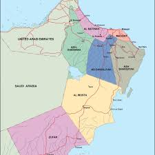 Map Of Oman Oman Political Map Eps Illustrator Map Our Cartographers Have