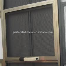 bulletproof stainless steel wire mesh screen fly or mosquito