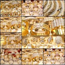 beautiful golden jewelry collage stock photo picture and royalty