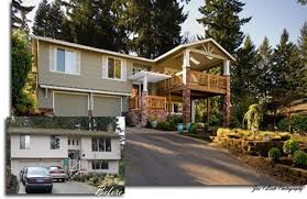 split level remodel before and after split level homes before
