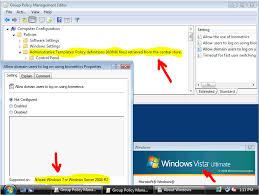 trabalhando com as gpos do windows 7 em cima de active directory