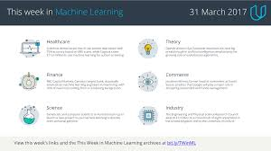 Home Evolutionary Healthcare This Week In Machine Learning 31 March 2017 U2013 Udacity Inc U2013 Medium