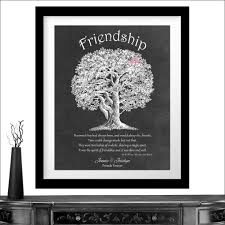 new personalized gift time gift personalized gift for friendship best friends quote from winnie