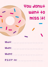 printable invitations mini donuts free printable donut party invitations free