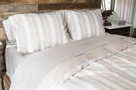 Beige Comforter Sheet Set Windowpane Thread Experiment
