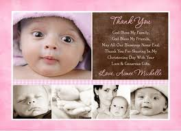 baby thank you cards girl collage thank you cards photos baby