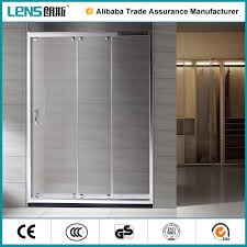 3 panel sliding rollaway shower screen extension buy rollaway