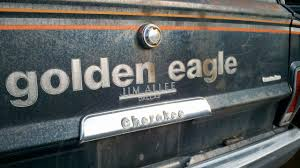 jeep golden eagle decal junkyard find 1979 jeep cherokee golden eagle the truth about cars