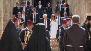 Trumps Hpuse In New York Manchester Attack Changes The Conversation For Trump U0027s Trip The