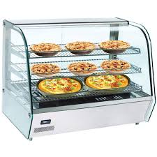 heated food display warmer cabinet case buffalo countertop heated display cabinet 160ltr display cabinets