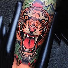 25 trending traditional tiger tattoo ideas on pinterest