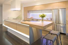 kitchen minimalist kitchen with long island and white thick