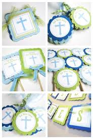 Centerpieces For Baptism First Communion Napkin Rings Decoration Adore By Nat