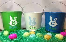easter buckets personalized easter basket