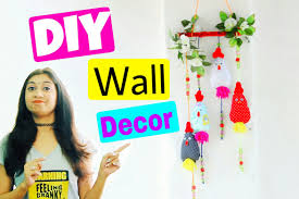 Hanging Wall Decor by Diy Wall Decor Idea Diy Wall Hanging Decor Youtube