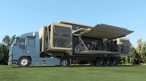 Flat Pack Homes Usa by Ten Fold Engineering Deploys Flat Pack Homes That Build Themselves