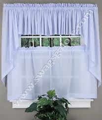 Blue Kitchen Curtains by Dorothy Curtain Tier Pair Blue United Curtain Sheer Kitchen