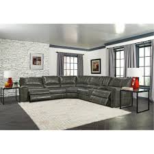 rc willey has luxurious living room groups in stock charcoal gray 6 piece power reclining sectional salinger