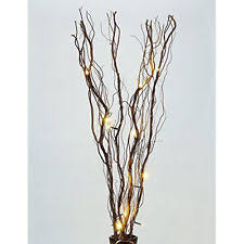 lighted branches darice lighted branches willow 36 40 rice lights in