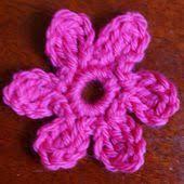 Free Pattern For Crochet Flower - easy crochet flower patterns