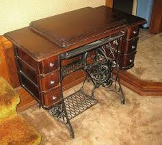 sewing machine table ideas old sewing machine cabinets full image for antique sewing machine