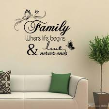 vinyl wall art decals quotes saying home decor christmas wall new family vinyl wall quote decal stickers for home decor wall beautiful home decor