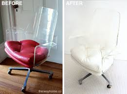 Lucite Armchair Lucite Chair Before U0026 After This Way Home