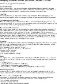 Ct Resume Resume Cv Cover Letter by Emergency Room Nurse Job Description Sample Er Nurse Resume