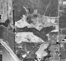 Iu Campus Map The Past Present And Future Hydrology Of Devereux Slough Ccber