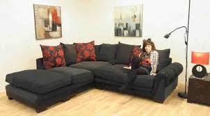 Red Corner Sofa by Sofa City Fabric Sofas