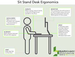 Ergonomic Sit Stand Desk Sit Stand Desk How Do We Use Them