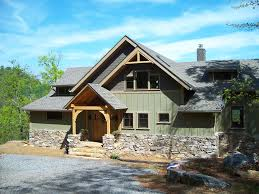 craftsman timber frame home with mt mitchel vrbo