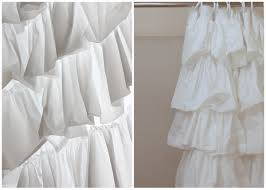 Curtains With Ruffles Do You Like Ruffles Anthro Shower Curtain See Kate Sew