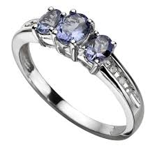 rings with tanzanite images White gold diamond and tanzanite ring samuel jewelry stock silver jpg