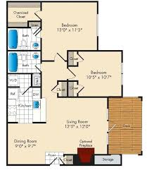 apartment square footage average square footage of a 2 bedroom apartment floor plans for size