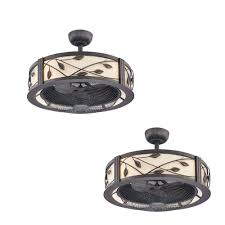 Allen Roth Ceiling Fan Remote by Amazon Com Set Of 2 Allen U0026 Roth Eastview 23 In Aged Bronze