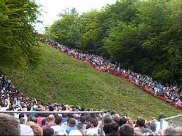 traditions cheese rolling glos uk