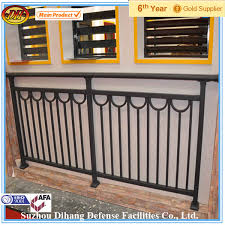 outdoor stair railing banister handrails for outdoor steps