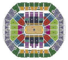 Oakland Map Seating Charts Oracle Arena And Oakland Alameda County Coliseum