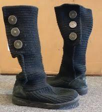 womens boots size 12 australia ugg uggs australia black womens size 12 maddison boots ebay